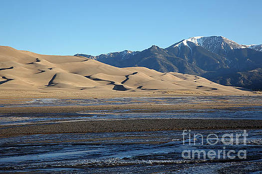 Great Sand Dunes  by Betty Morgan
