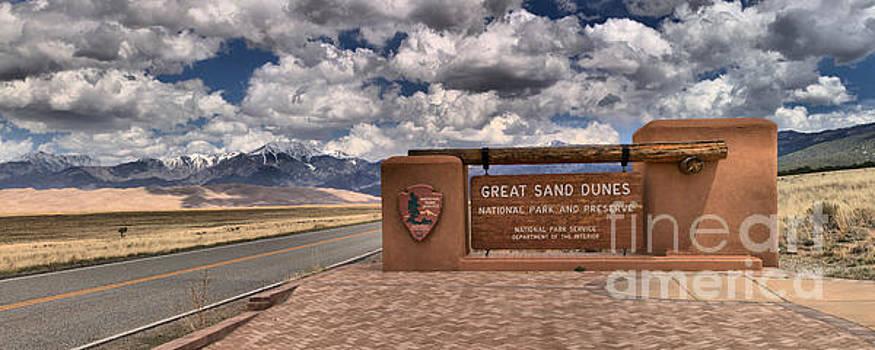 Adam Jewell - Great Sand Dunes Entrance Panorama