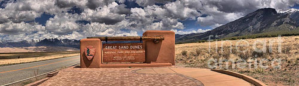 Adam Jewell - Great Sand Dunes National Park Entrance