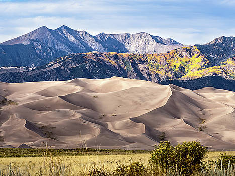 Great Sand Dunes of Southern Colorado by Nadja Rider