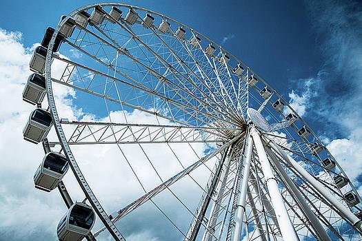 Great Smoky Mountain Ferris Wheel by Mary Lee Dereske