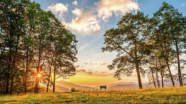 Great Smoky Mountains NC Rise And Shine by Robert Stephens