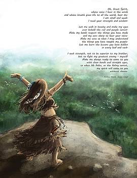 Great Spirit Prayer by Brandy Woods
