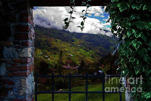 Great View North Of Paute by Al Bourassa