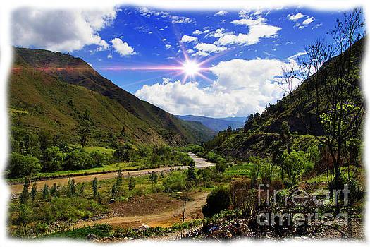 Great View North Of Paute V by Al Bourassa
