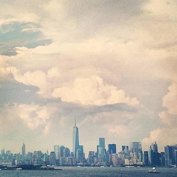 Great View Of #manhattan While Leaving by Ben Berry