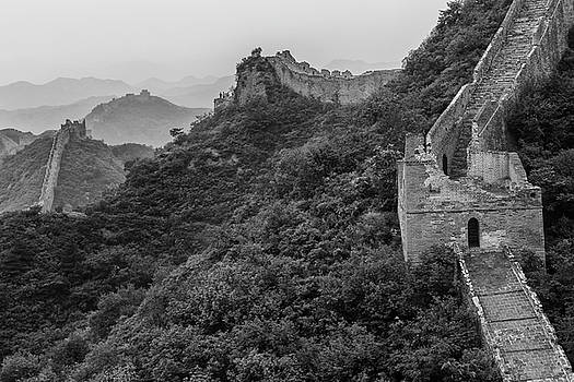 Great wall 3, Jinshanling, 2016 by Hitendra SINKAR