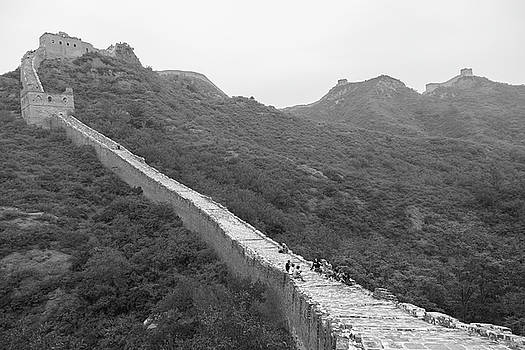 Great wall 4, Jinshanling, 2016 by Hitendra SINKAR