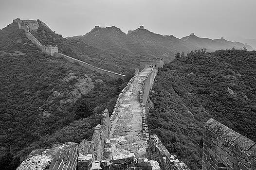 Great wall 6, Jinshanling, 2016 by Hitendra SINKAR
