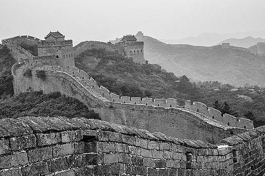 Great wall 7, Jinshanling, 2016 by Hitendra SINKAR