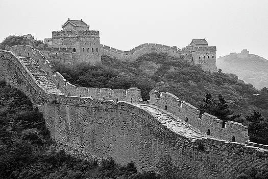 Great wall 8, Jinshanling, 2016 by Hitendra SINKAR