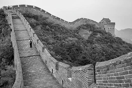 Great wall 9, Jinshanling, 2016 by Hitendra SINKAR