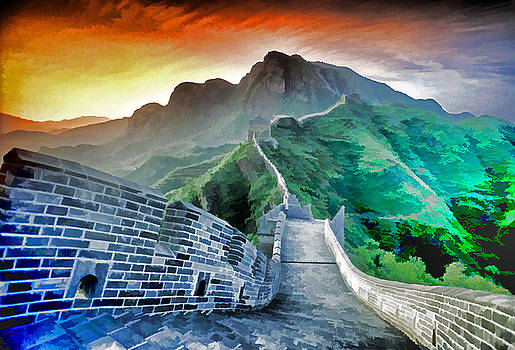 Dennis Cox WorldViews - Great Wall Dawn