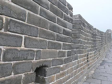 Great Wall of China by Gina S