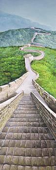 Great Wall of Mutianyu by Atelier B Art Studio