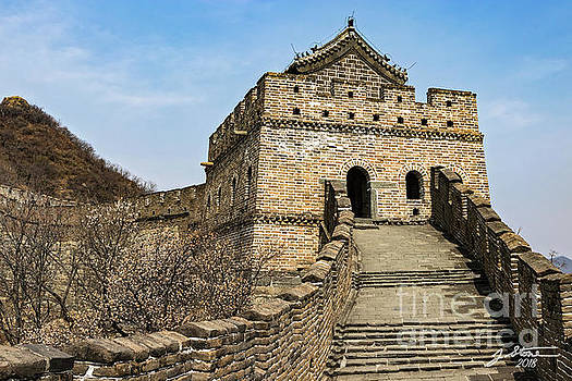 Great Wall Tower by Jeffrey Stone