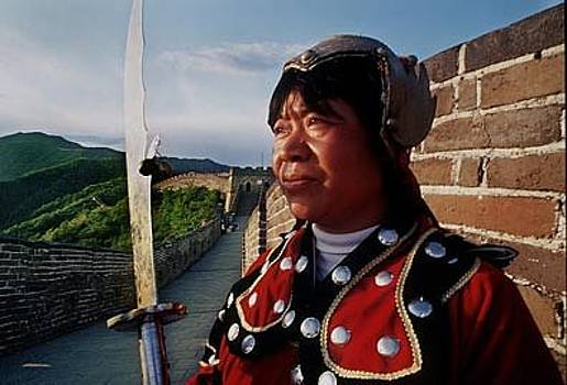Great Wall Warrior by Aimee K Wiles-Banion