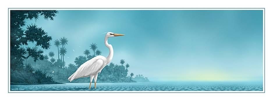 Great White by Scott Ross
