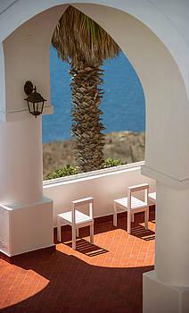 Eduardo Huelin - Greece Santorini island Oia village White architecture