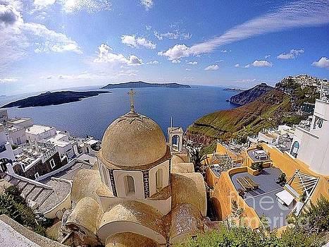 Greecescape by Denny Ragan