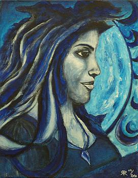 Greek Goddess in Monochrome by Rashmi Rao