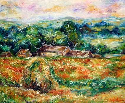 Greek Landscape by Joseph Lawrence Vasile