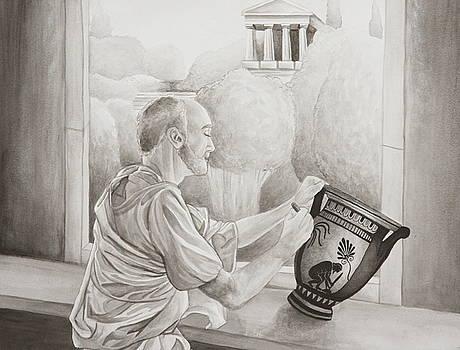 Greek Pottery by Michelle Miron-Rebbe