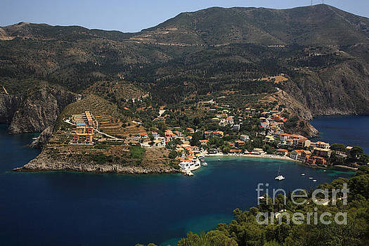 Greek village of Assos by Deborah Benbrook