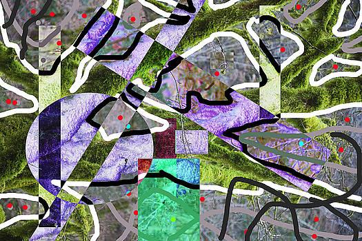 Green  Abstract by Matjaz Preseren