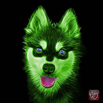 Green Alaskan Klee Kai - 6029 -BB by James Ahn