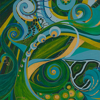 Green and Gold by Jill Kelsey