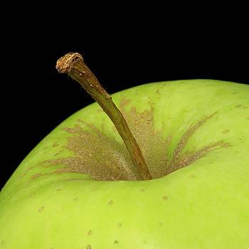 Vyacheslav Isaev - Green apple close-up