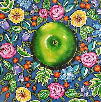 Green Apple by Sandra Lett