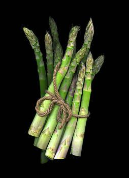 Green Asparagus by Christian Slanec