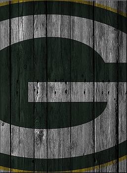 Joe Hamilton - GREEN BAY PACKERS WOOD FENCE