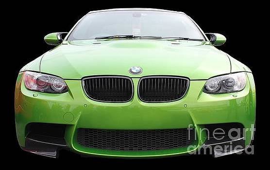 Green BMW by Vicki Spindler