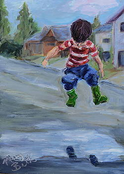 Green Boots by Mary Beth Harrison