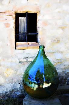 Marilyn Hunt - Green Bottle Italian Window