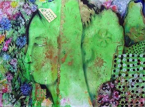 Green Bride by Pinki kumari Madawela