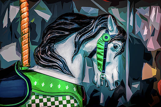 Green Bridle 1 by Michael Arend