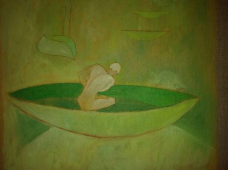 Victoria Sheridan - green canoe