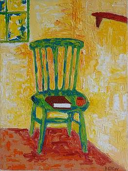 Green Chair by Peter Silkov