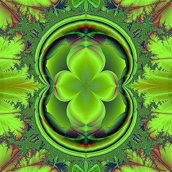 Green Clover by Svetlana Nikolova