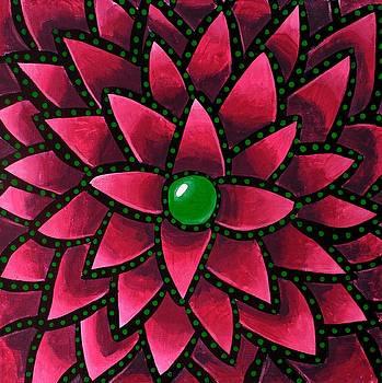 Green Core - Abstract Art by Ai P Nilson