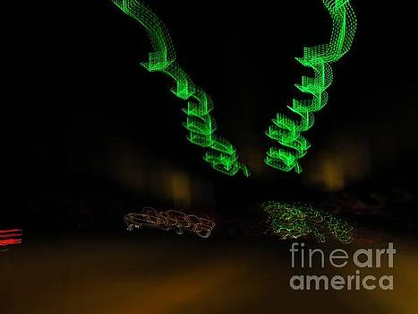 Green curlicues by Rrrose Pix