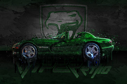 Ray Van Gundy - Green Dodge Viper RT/10