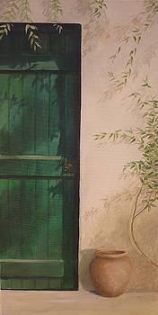 Green Door by Caroline Philp