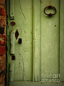 Green Door Details by Lainie Wrightson