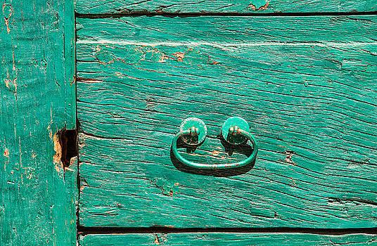 David Letts - Green Door Handle of Tuscany