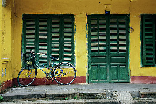 Green Shutters by Ken Aaron